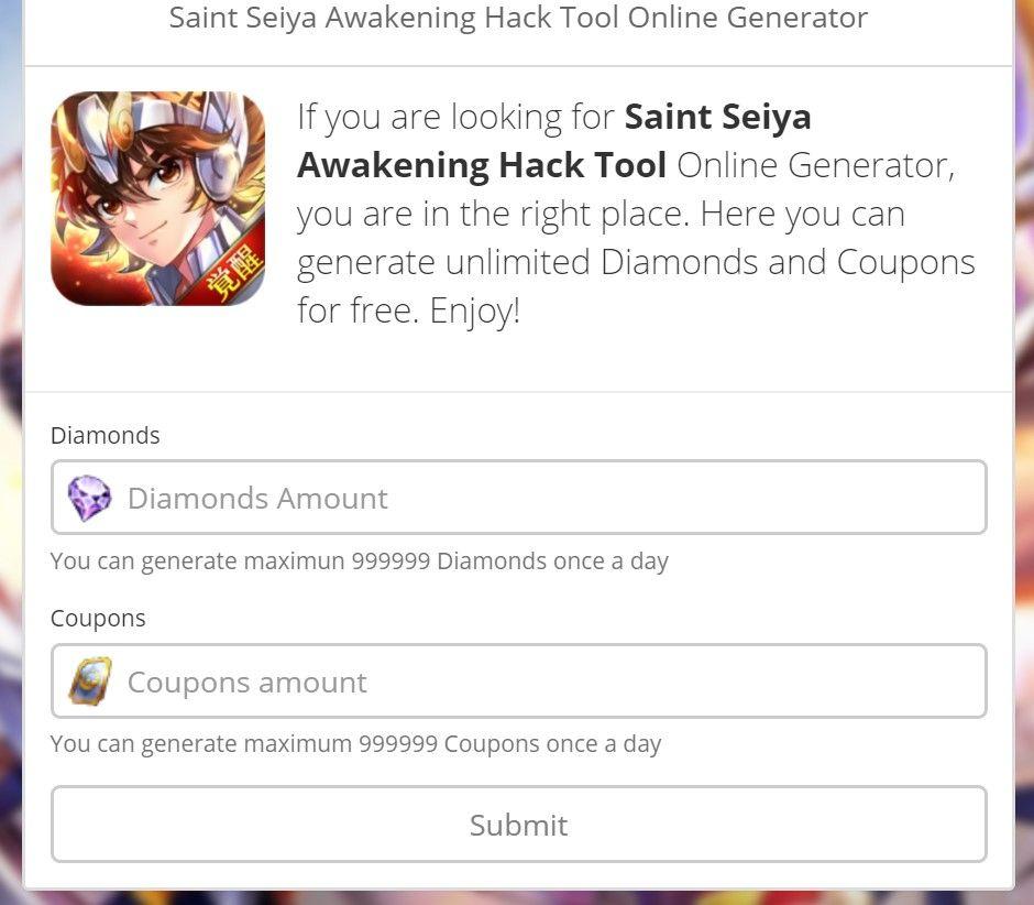 Saint Seiya Awakening Hack Como Hackear Saint Seiya Awakening
