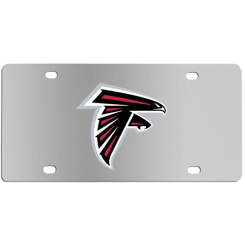 Atlanta Falcons Steel License Plate Wall Plaque