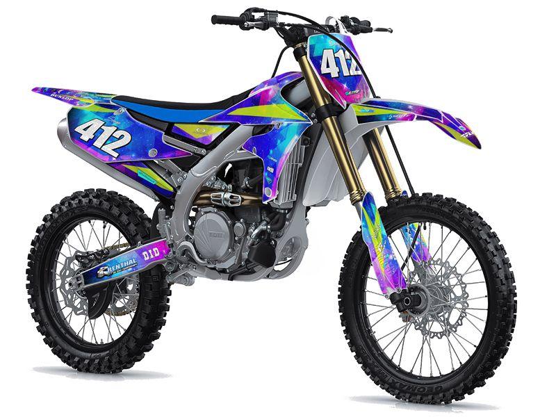 Space Kadet Graphics Kit For Ttr 125 In 2020 Dirtbikes Custom Bikes Sports Bikes Motorcycles