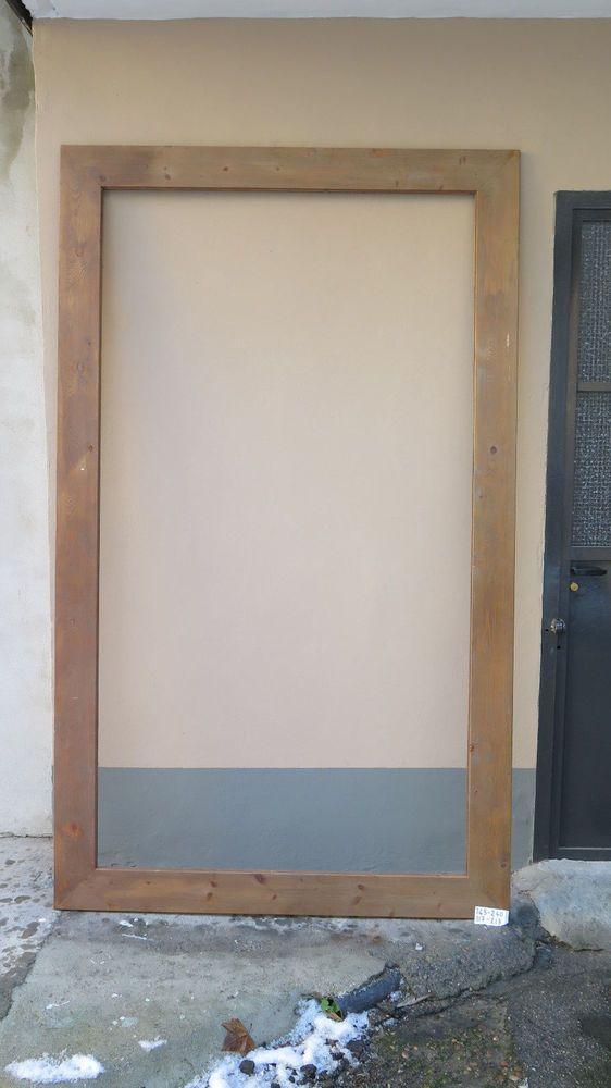 145x240 cm ENORME CORNICE IN LEGNO PER QUADRI DIPINTI