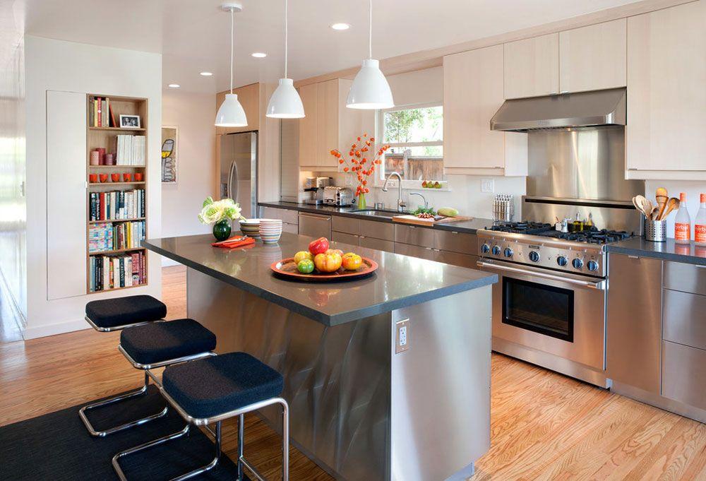ordway by eisenmann architecture kitchens metal kitchen cabinets rh pinterest ch