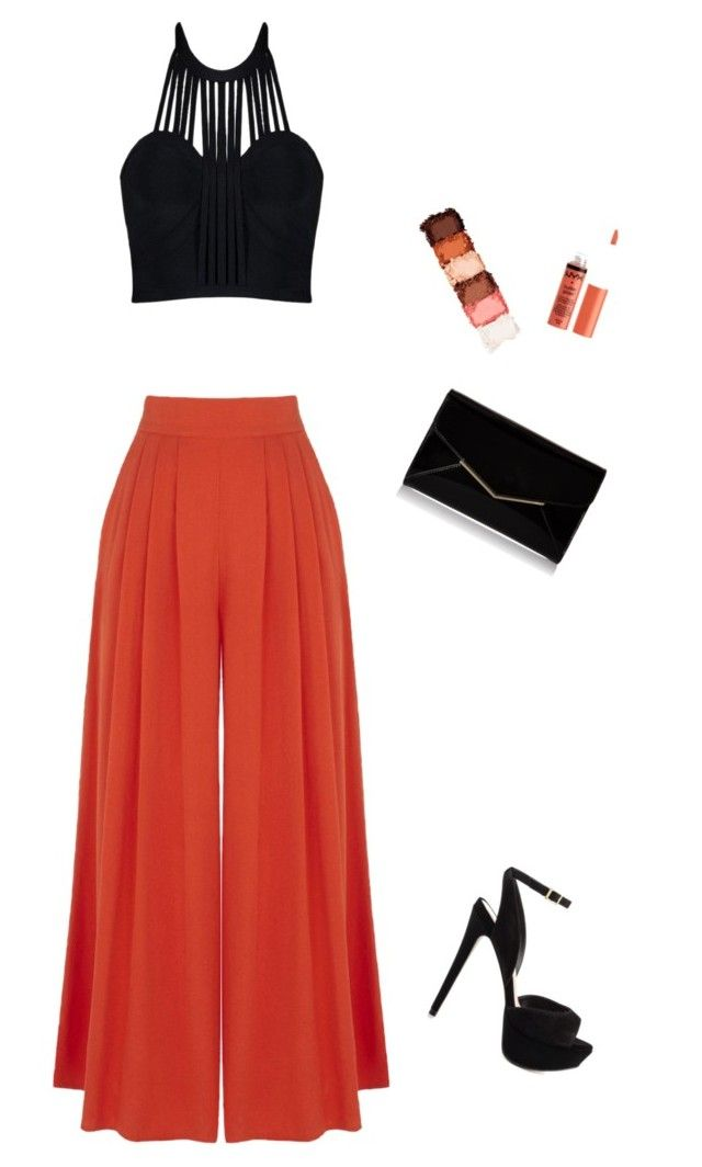 """""""Untitled #35"""" by ainsleeo on Polyvore featuring Posh Girl, Warehouse, ALDO, Furla and NYX"""