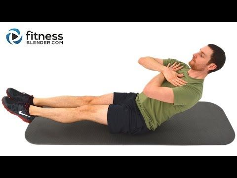 Pilates For Lean Legs Toned Core  Minute Pilates Workout Video By Fitnessblender Com Youtube