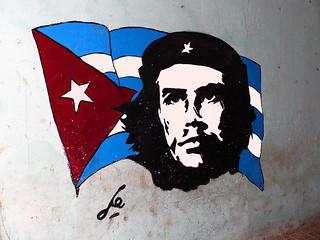 Che Cuban Flag In 2020 Cuban Flag Graffiti Che Guevara