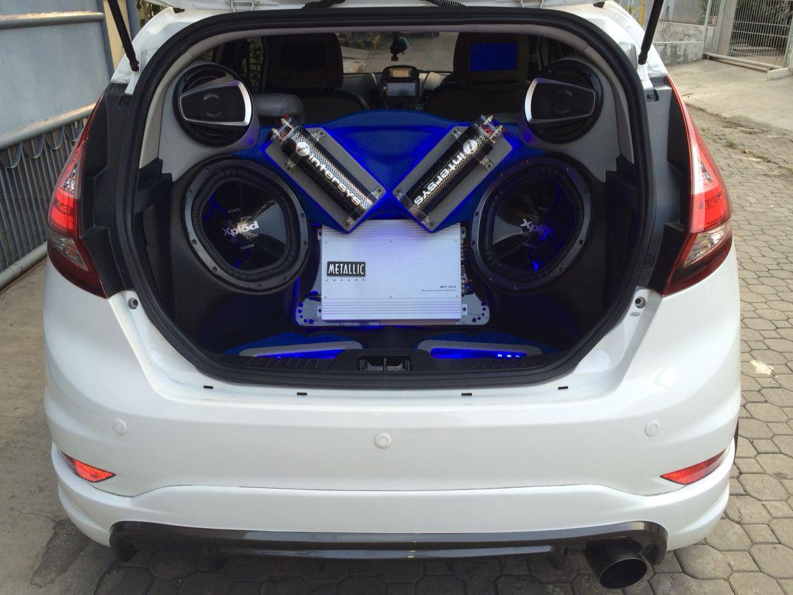 Cars ford fiesta audio