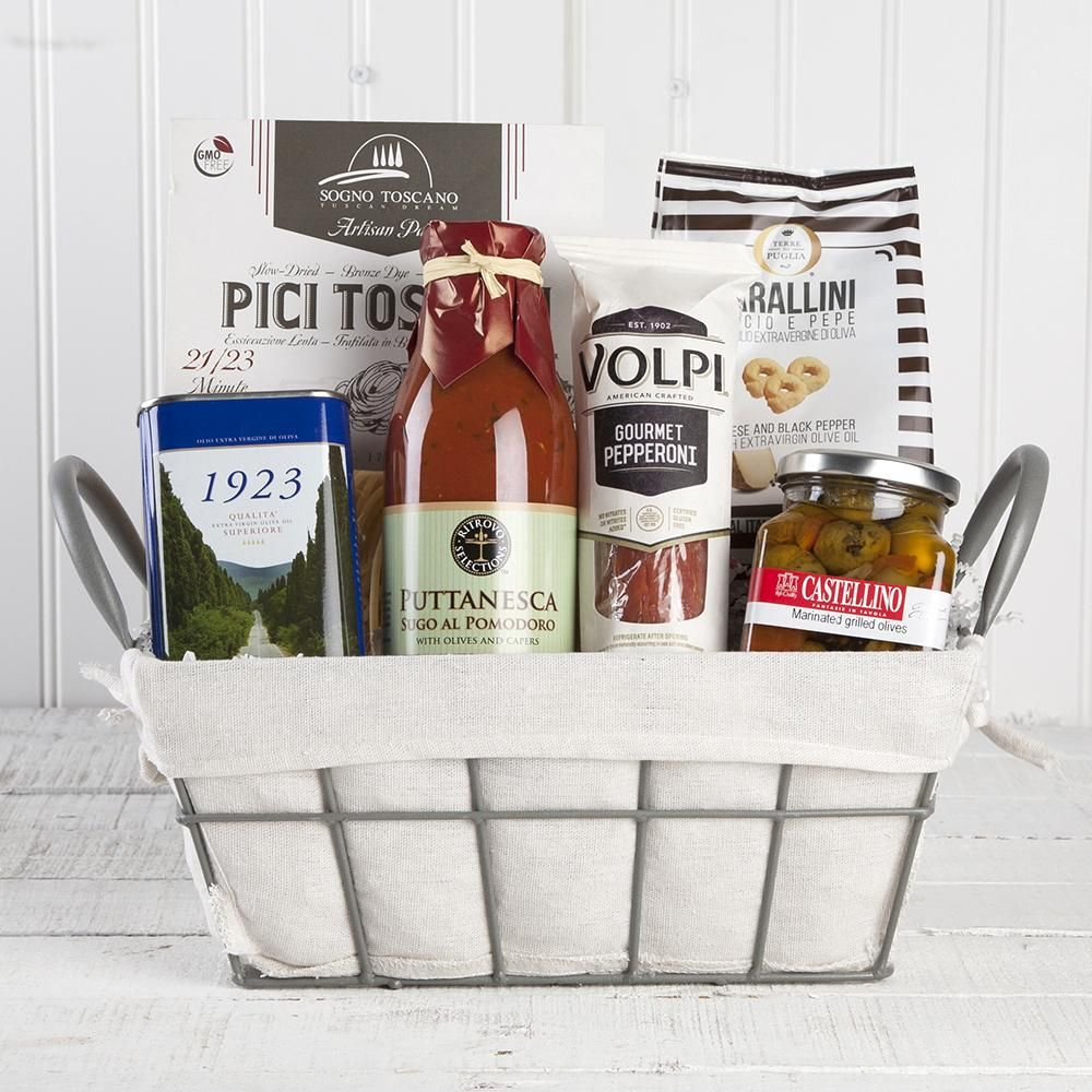 Grazie thank you gift basket set of 6 products pinterest grazie thank you gift basket solutioingenieria Image collections