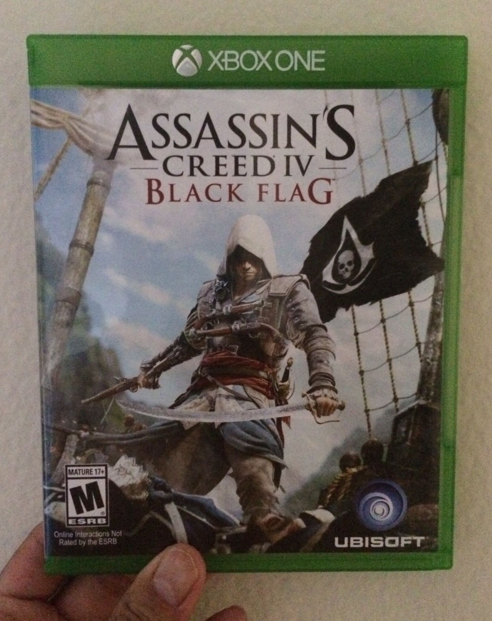 Assassin S Creed Iv Black Flag For Xbox One Xbox Assassins Creed Black Flag Black Flag