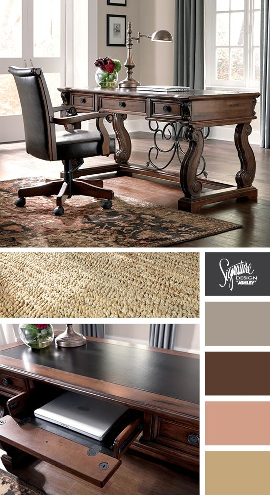 Alymere Home Office Desk Ashley