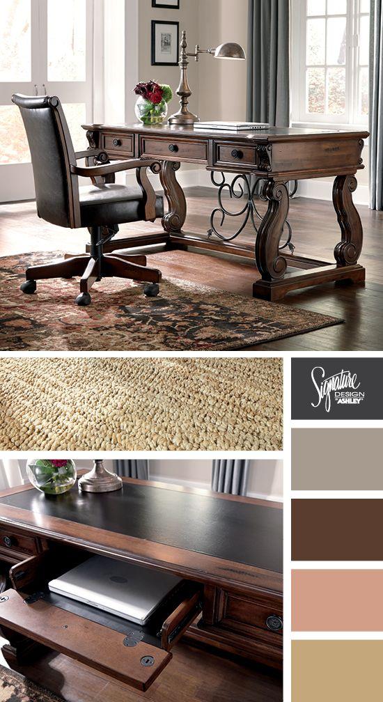Alymere Home Office Desk Ashley Furniture Home Furniture Ashley Furniture