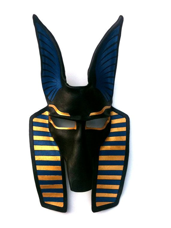 anubis leather mask by mrhydesleather on etsy