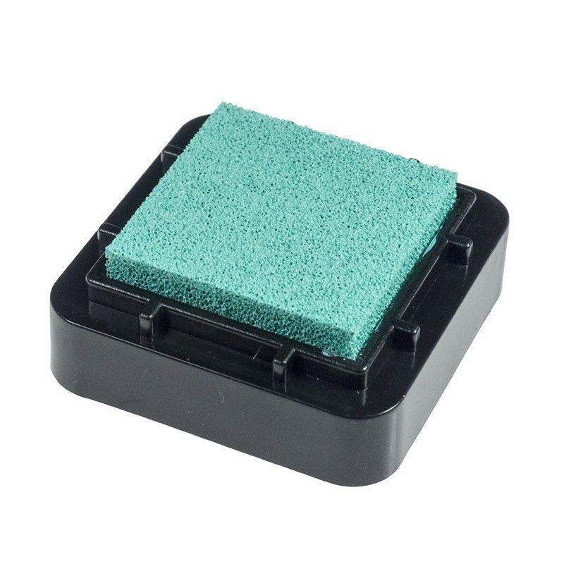 Encreur 2,5 x 2,5 cm Turquoise