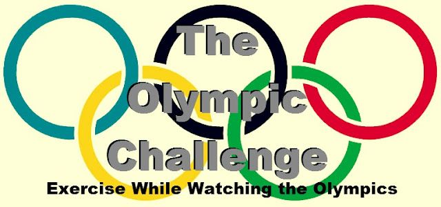 The Olympic Challenge -- Workouts to do every time something specific happens during the Olympics! Get fit while watching the games!