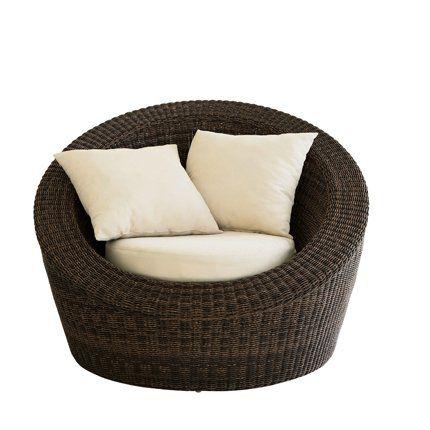 Fauteuil rond jardin fauteuil jardin resine blanc | Askelldrone
