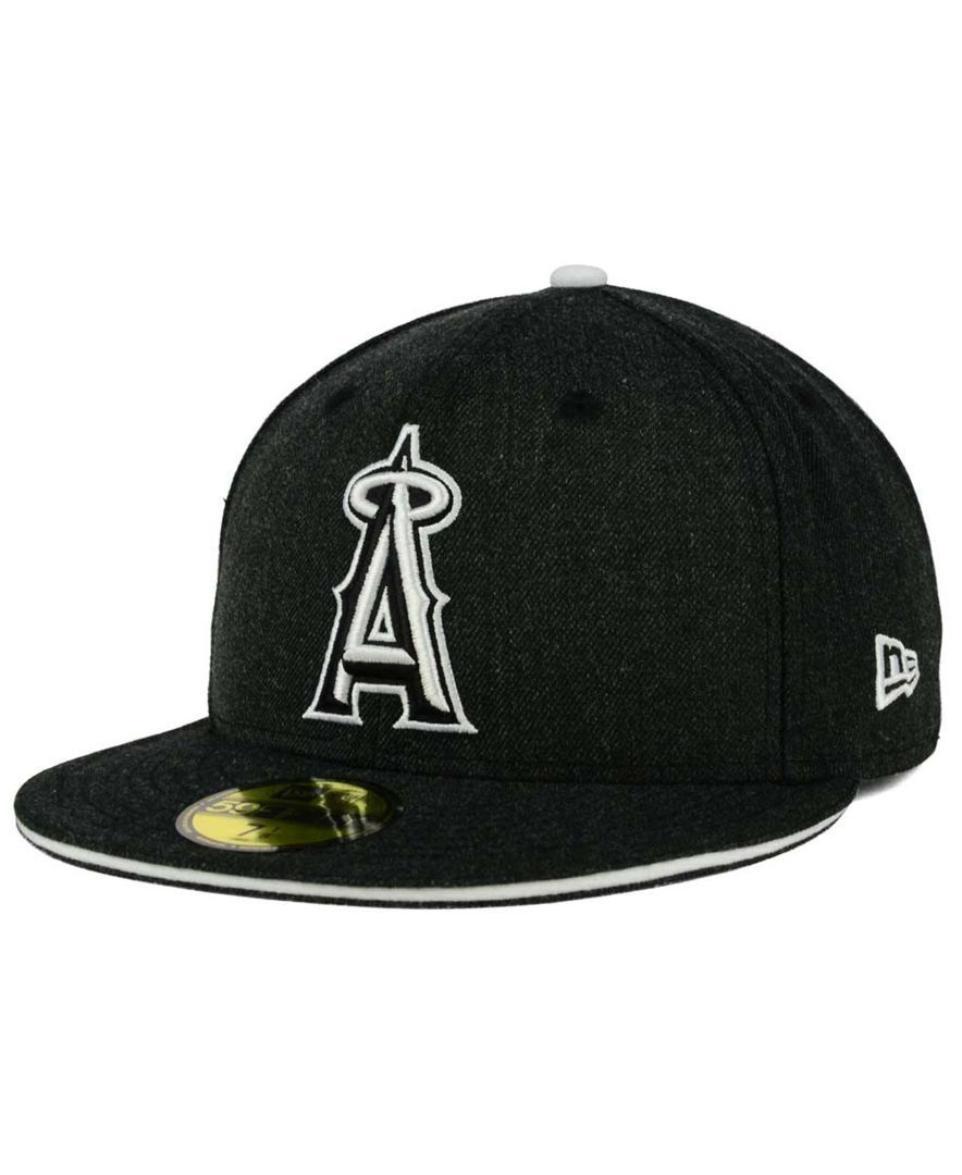cozy fresh ad287 99bfe ... amazon new era los angeles angels of anaheim heather action 59fifty cap  sports fan shop by