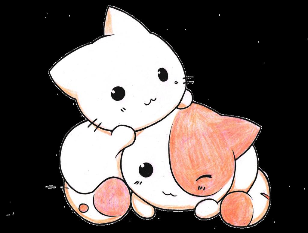 Kawaii Cats Render by SweetKawaiiLove on DeviantArt Cute