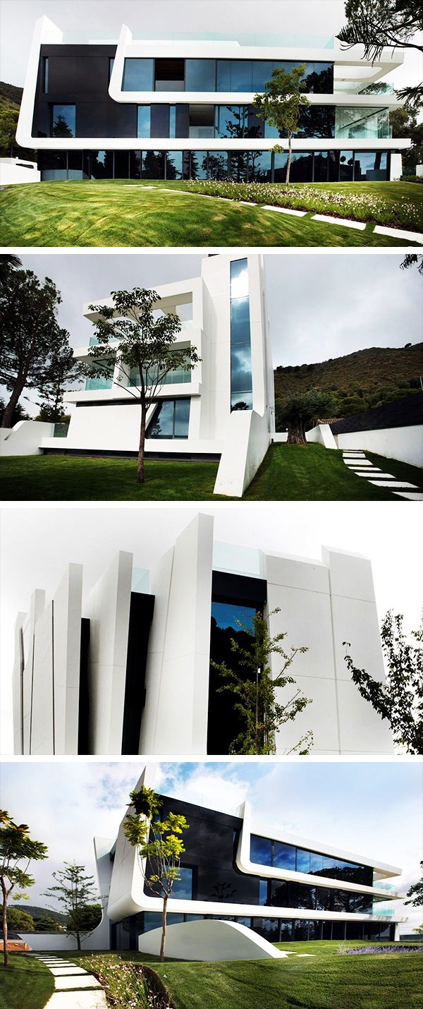 Weave House by A-cero on the Mediterranean Coast of Spain | Spain ...