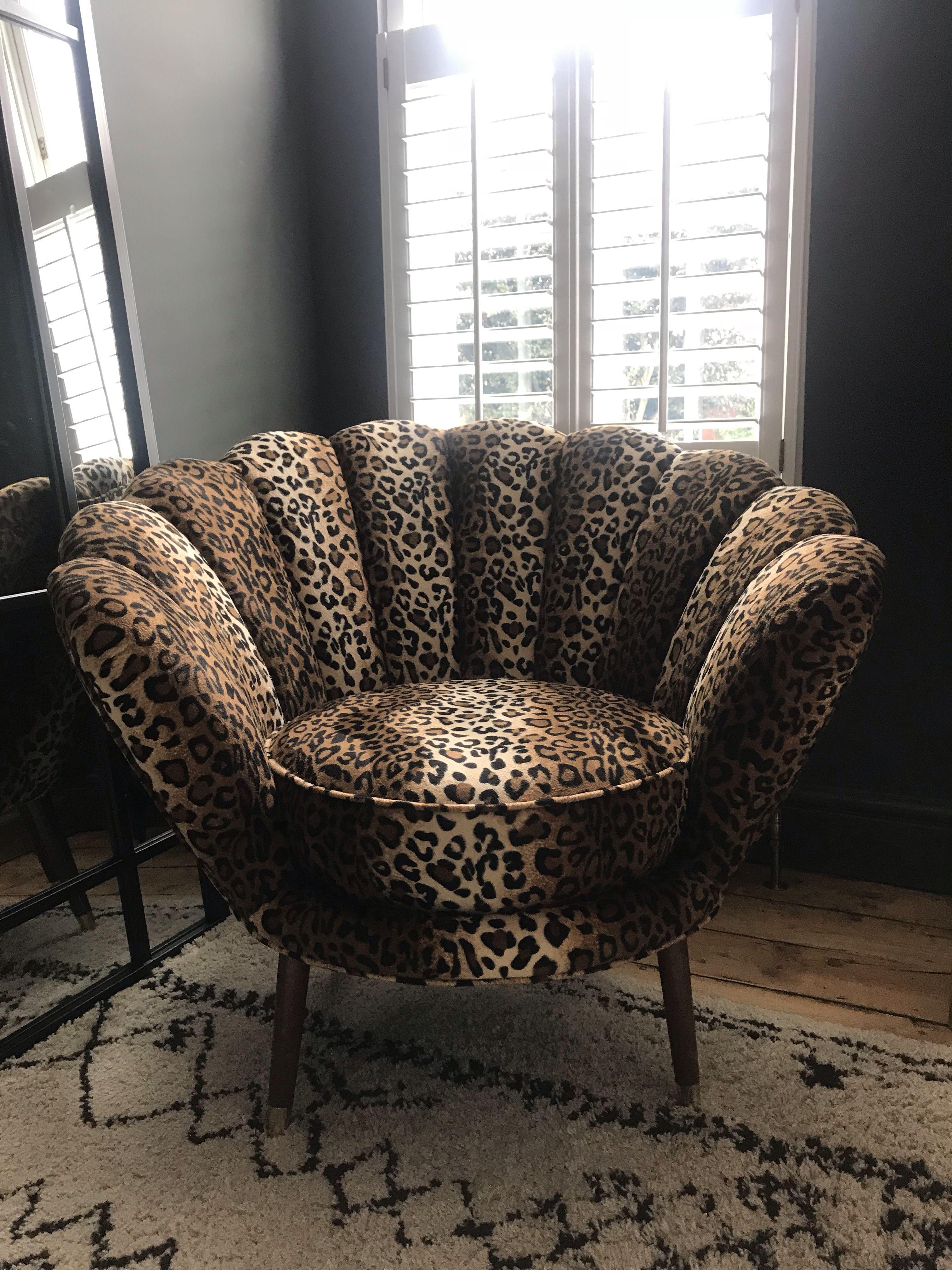 The Oyster Chair  Leopard print decor, Animal print decor, Animal
