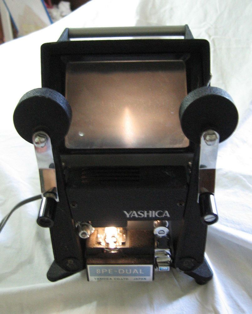 Yashica 8pe Dual 8mm Super 8mm Viewer Editor Light Works Light Works Yashica Vintage Eclectic