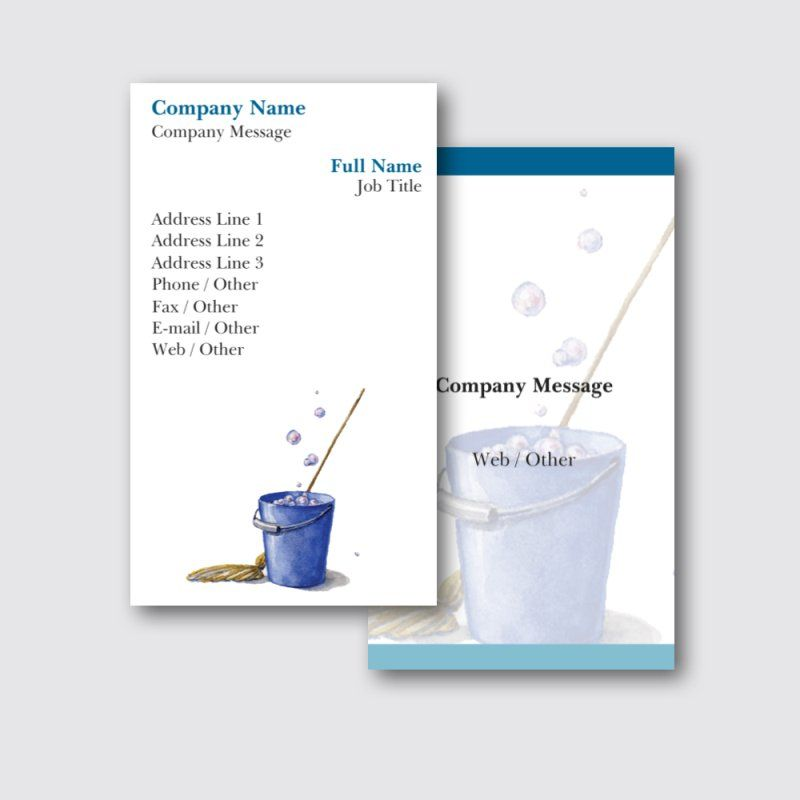 Personalized Standard Business Cards Designs Cleaning Services Construction Repair Improvement Stand Construction Repair Line Phone Business Card Template
