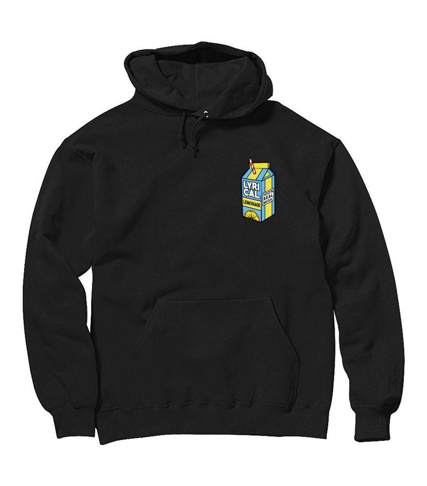 178222fd7d21 Men's Style of Today: Lyrical Lemonade Printed Men's Hoodie Sweatshirt  Sizes ...