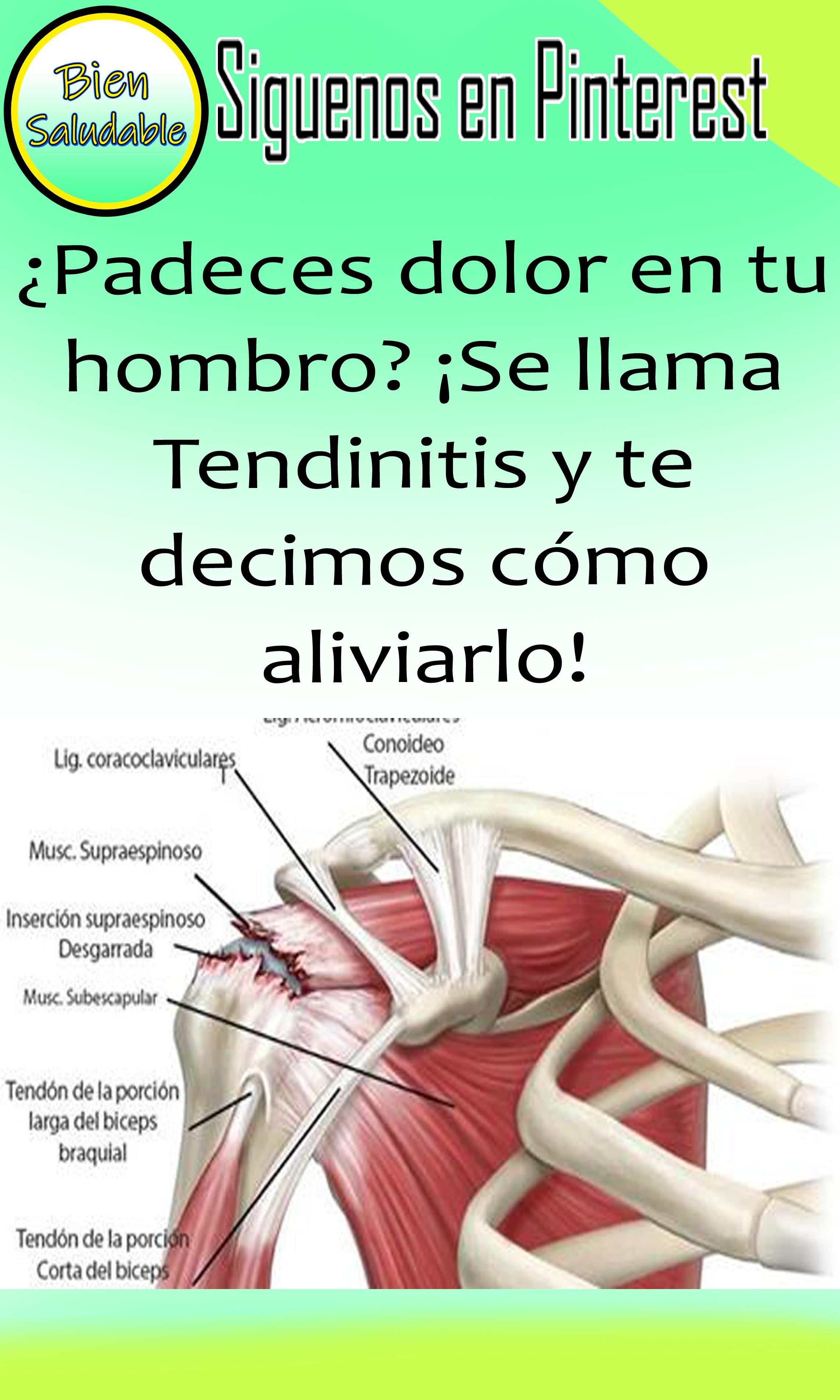 ¡Mejora el dolor de tus hombros o tendinitis con este..