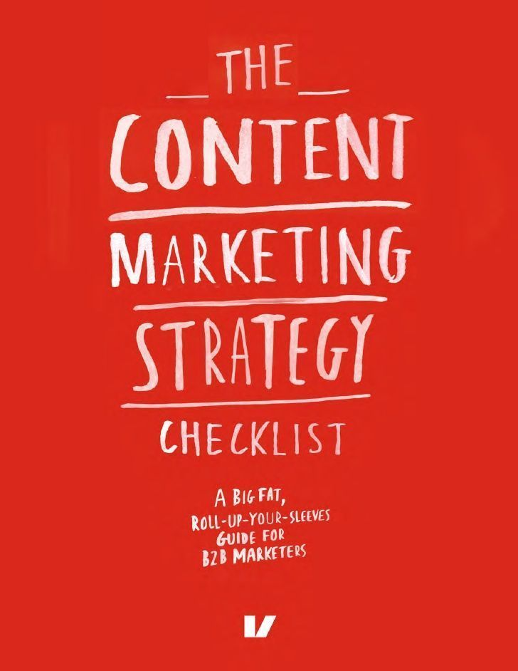 The Content Marketing Strategy Checklist sample Content - content marketing plans