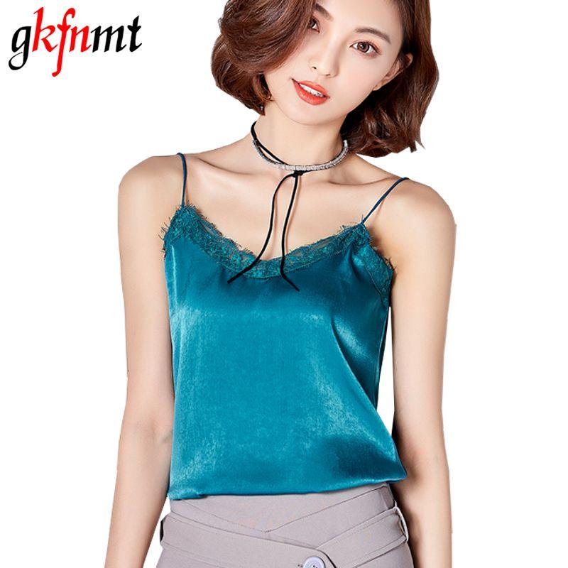 45d508b7325b Crop Top Clothes Plus Size Canotta Donna Estiva Tropical Womens Tops 2017  Silk Women Shirt Camis Sleeveless Blusa Feminina