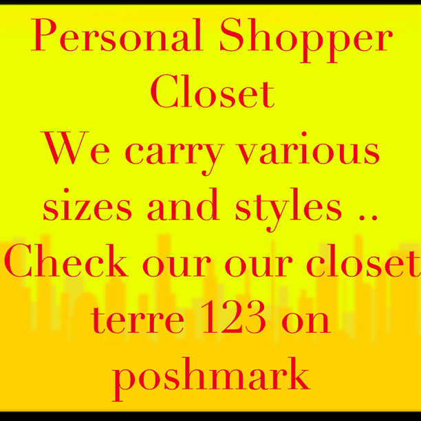 Poshmark .. Love to dress people