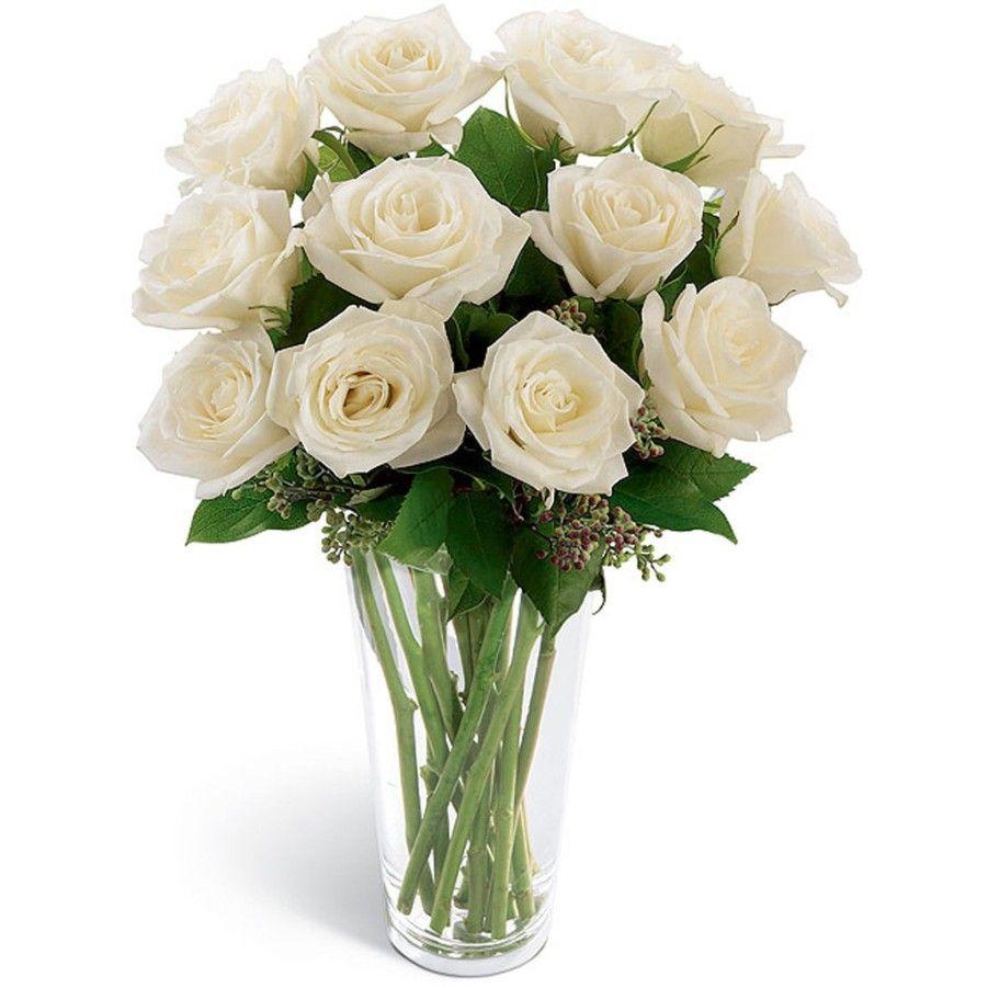 Gambar Bunga Mawar Putih Dalam Vas Bunga Arreglos Rosado