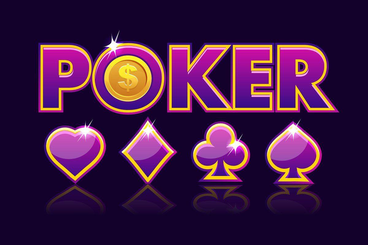 logo ideas CASINO and POKER in 2020 Poker, Purple logo