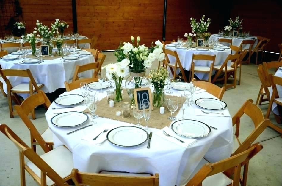 Wedding Centerpieces For Round Tables Round Table Wedding