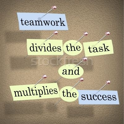 Success Quotes Teamwork Divides The Task And Win