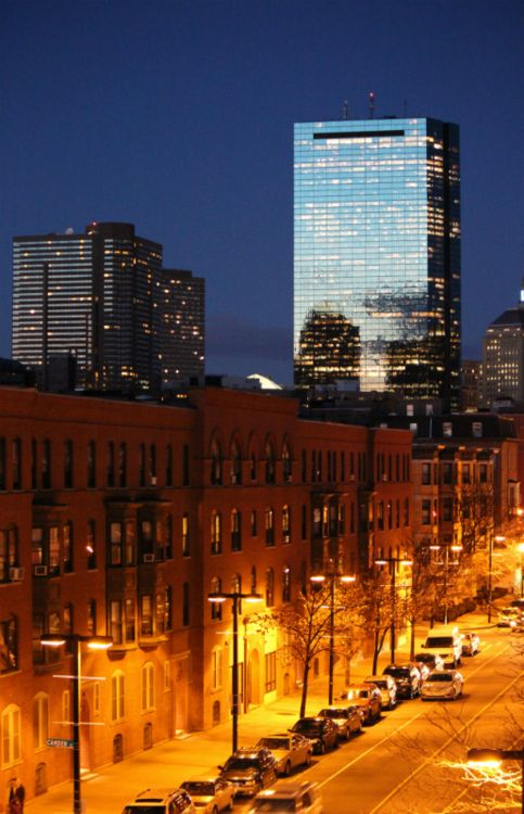 Columbus Avenue in Boston's South End