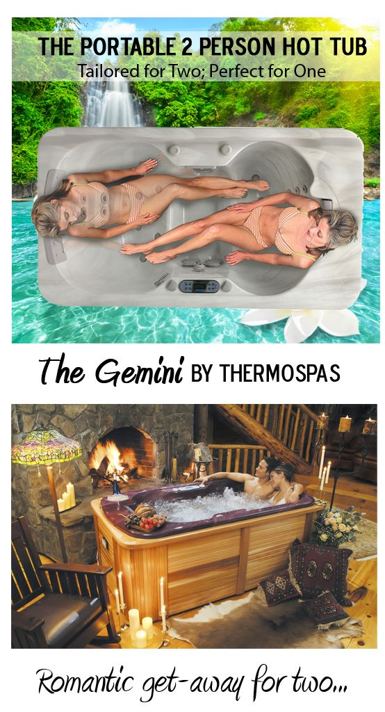 Perfect The Gemini Portable 2 Person Hot Tub From #Thermospas