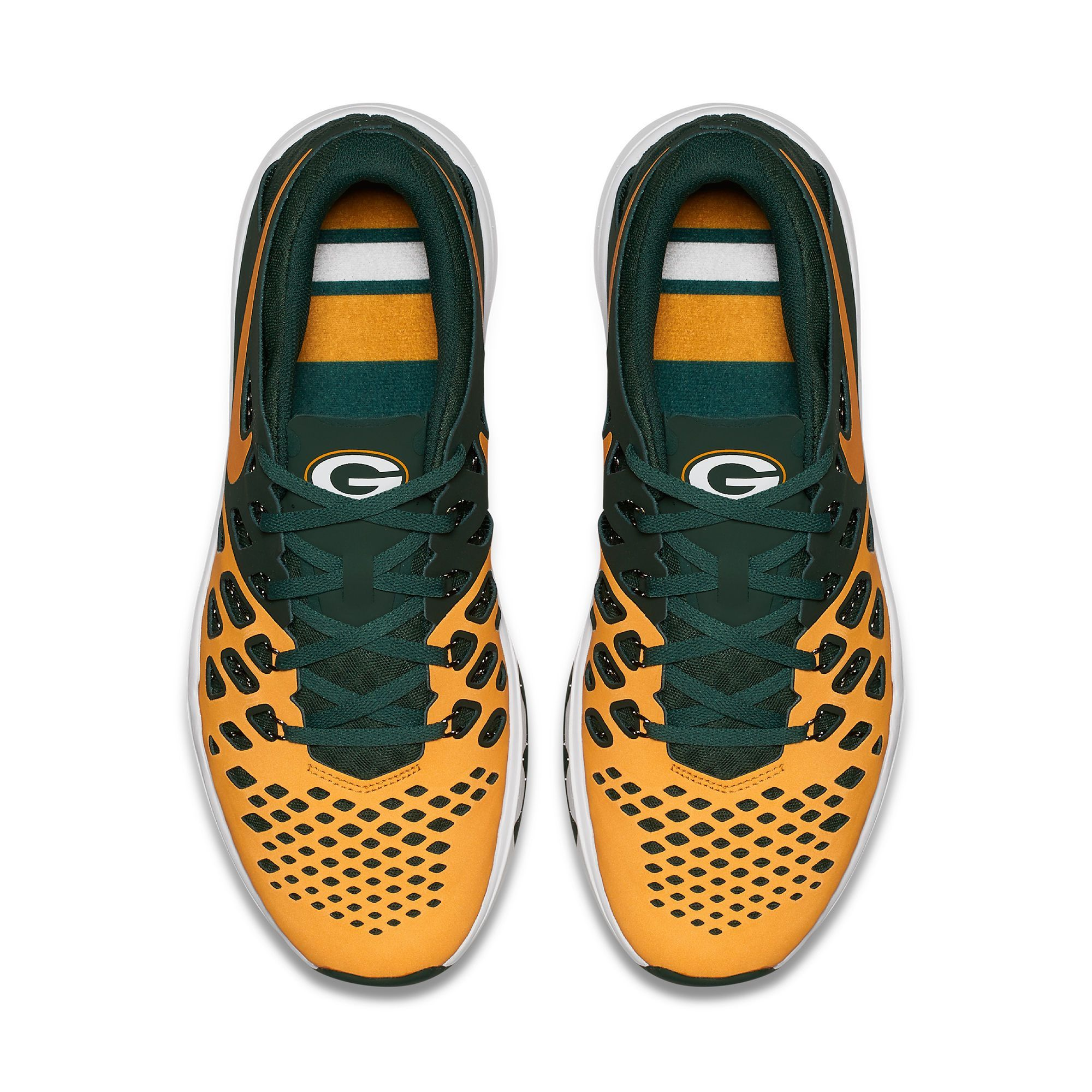 Green Bay Packers Nike Train Speed 4 Nfl Shoes Nfl Shoes Running Shoes For Men Packers