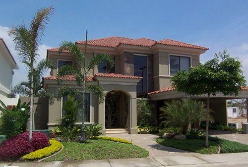 30 dise os construidos de fachadas de casas de dos plantas - Disenos casas modernas ...