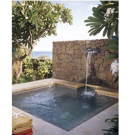 I just want a small pool like this in my backyard | FOR THIS SWEET I Want A Pool In My Backyard on