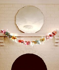 DIY pom pom   Just make them huge and put it around your room for decoration.