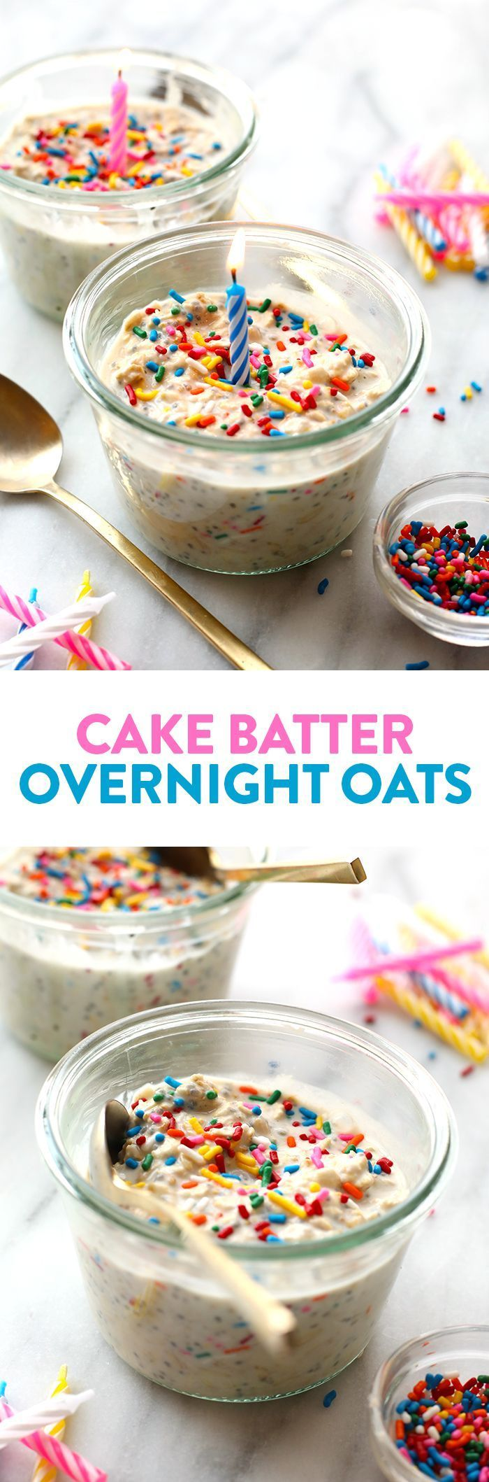 Celebrate Your Birthday The Right Way And Start Off With These HEALTHY Cake Batter Overnight