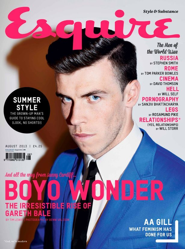 #Bale #Esquire #Magazine #Cover