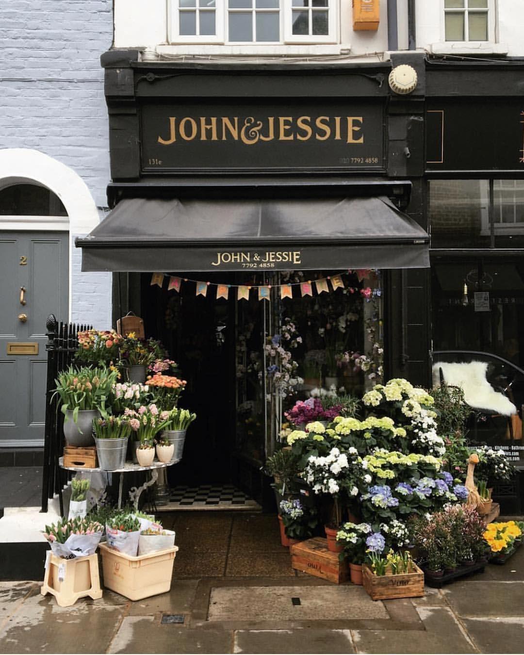 John Jessie Kensington Kelag Wanderlust Lovely London Flower Shop Vibes Off To The Easter Parade On 5th Avenue Shopfront