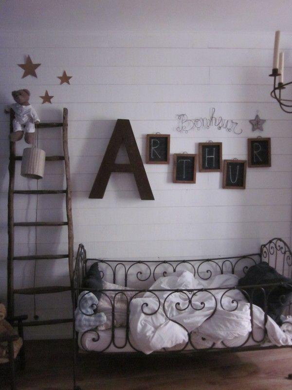 alphabet Cool Kids Room Pinterest Chambres, Chambre enfant et