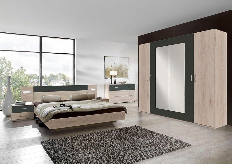 Wimex SchlafzimmerSet (4tlg.), mit Schwebetürenschrank