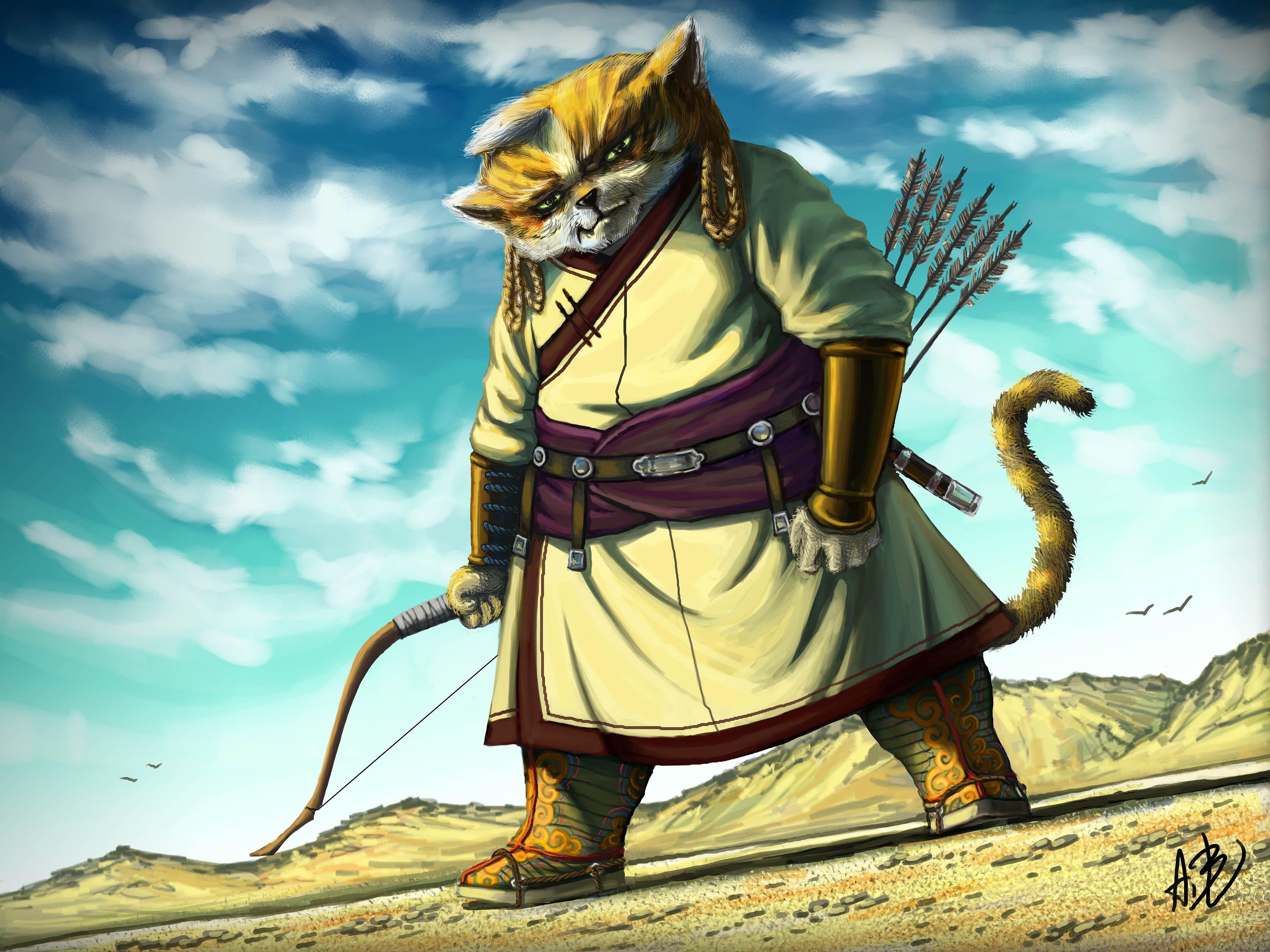 Монгольские коты