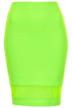 Neon green pencil skirt (Topshop) | My Style | Pinterest | Topshop ...