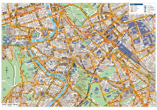 Rome Centro Transportation Map Europe travel Pinterest Rome