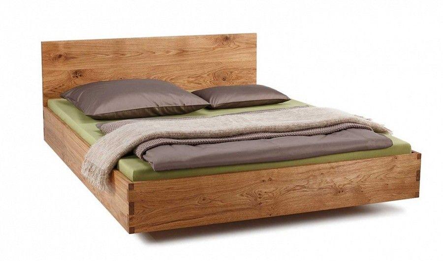 Eikenhouten Bed Naps Massief Houten Hoofdbord מיטות