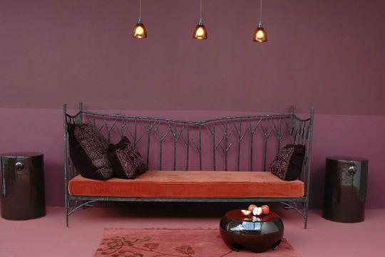 Peinture couleur salle de bain, chambre, cuisine Purple