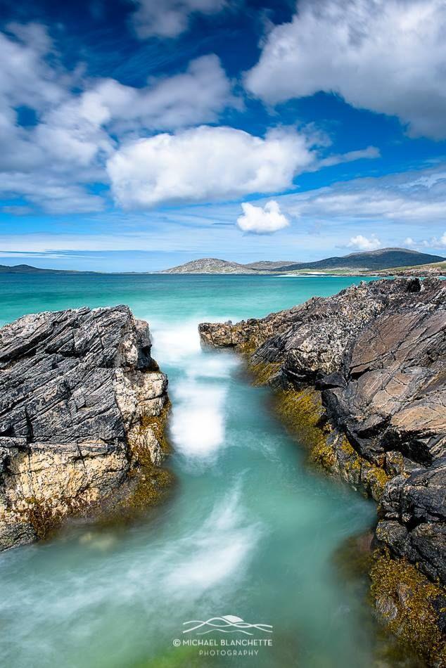 A Turquoise Rush, Isle of Harris