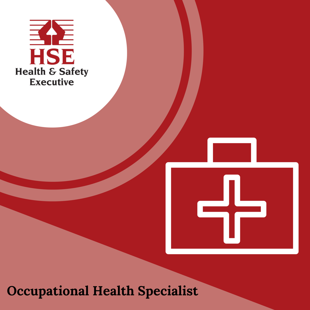 Joining HSE as an Occupational Health Specialist you will